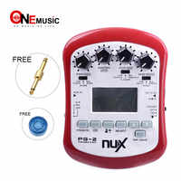 NUX PG-2 Portable G-EFX Multi Effects Chromatic Guitar Pedal Tuner Metronome & Guitar Mode with Noise Gate