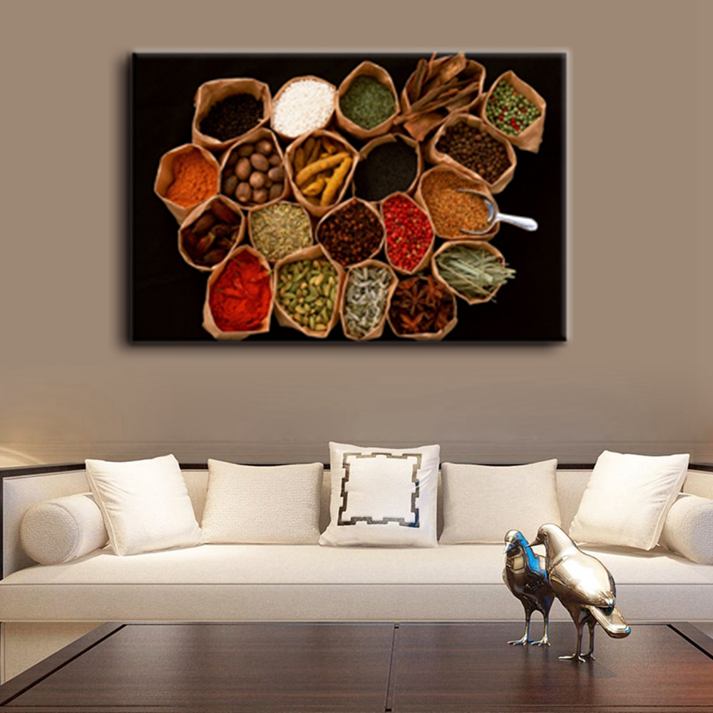 Canvas Painting Wall Art Print Food Artwork For Kitchen Home Decoration Picture