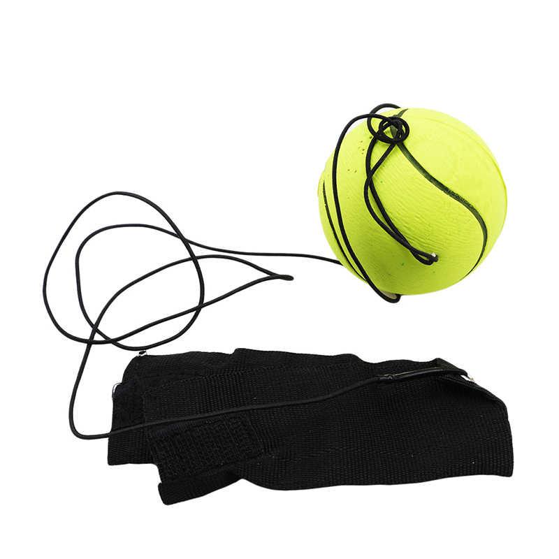 Terugkeer Spons Rubber Hand Bal Spel Oefeningen Stuiteren Elastische Sport Op Nylon String Kinderen Kids Outdoor Speelgoed Bal