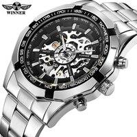 Winner Watch Men Skeleton Automatic Mechanical Watch Skeleton Vintage Man Watch Men Watch Top Brand Luxury