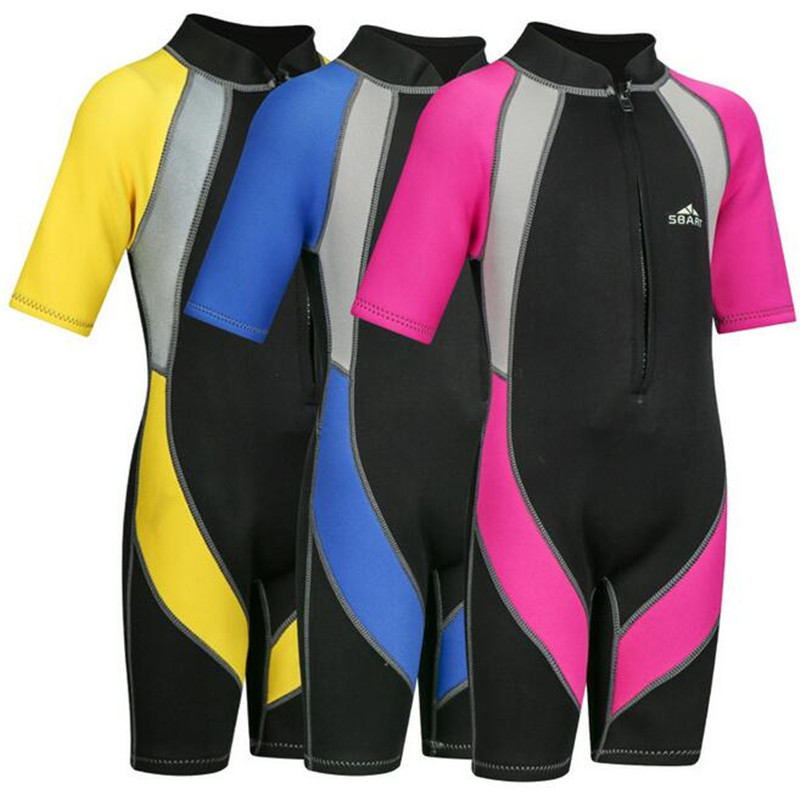 2MM Neoprene Surf Suit Kid Diving Cloth Fast Drying Continuous Heating Child Boy Girls Diving Suit Swim Wetsuit Swimwear сумка printio sun surf kid