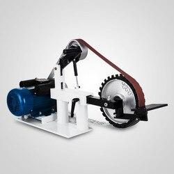 Belt Sander Machine Metalworking Grinding Machine Speed Regulation