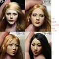 "Collectible Kumik 1/6 Headplay Female Head Scuplt Custom Kumik Head Carving For 12"" Hot Toys Action Figure Doll Toys Accessory"