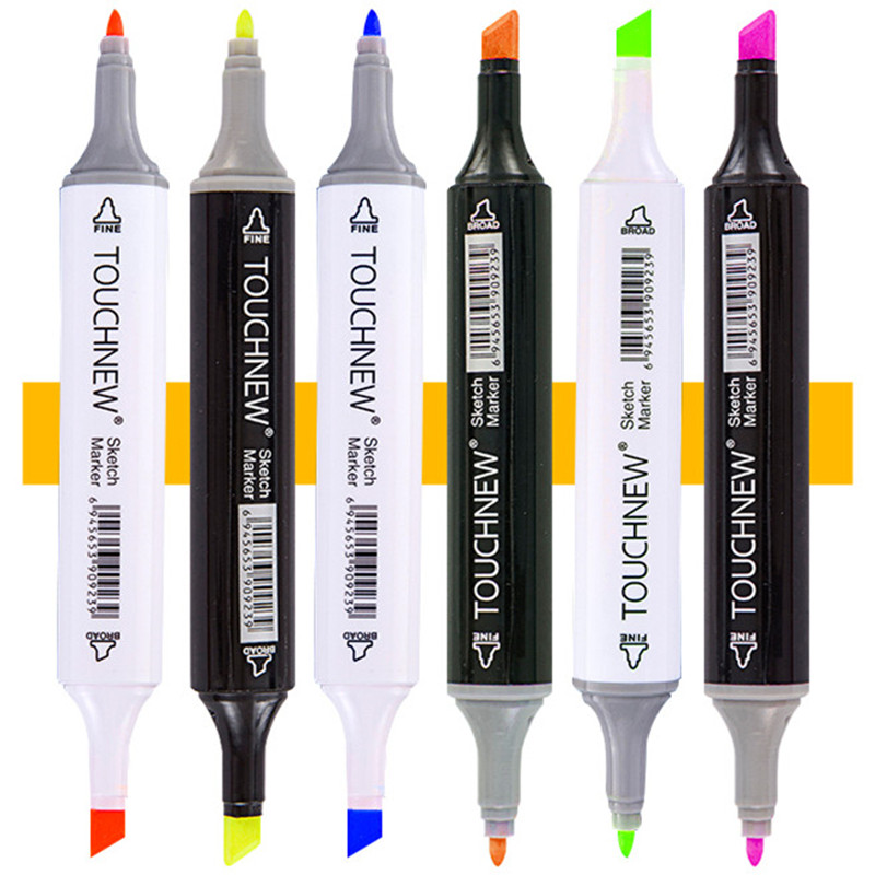 Image 3 - TOUCHNEW 30/40/60/80 Colors Art Markers Alcohol Based Markers Drawing Pen Set Manga Dual Headed  Art Sketch Marker Design PensArt Markers   -