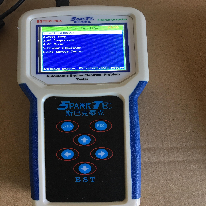 BST501 Plus - automobile engine electrical problem tester (test sensors, electric wires, ECU, fuel injectors, fuel pump, compon)