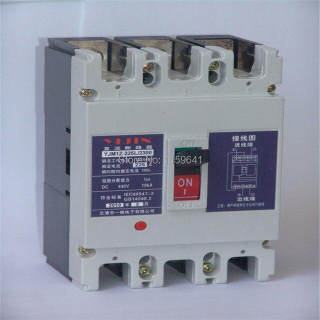 2 pins DC550V Mini 63 Amp Circuit Breaker-in Circuit Breakers from ...