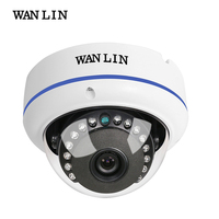 WANLIN Metal Vandalproof 4MP Analog High Definition AHD Camera 2 8 3 6 6mm Fixed Lens