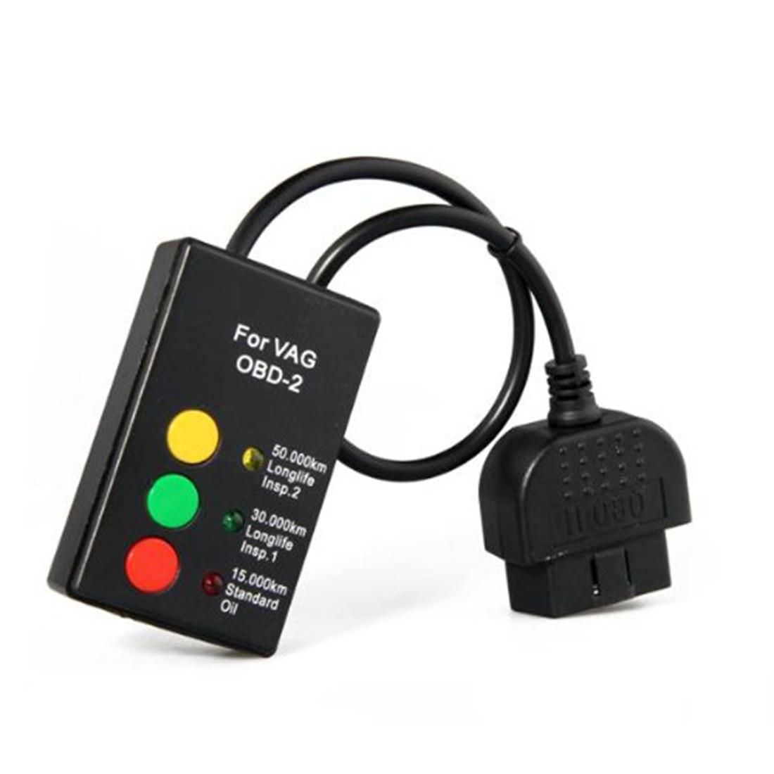 Prix pour Vente nouvelle VENTE chaude OBD II 2 Voiture Auto Oil Service Enlever Diagnostic Scanner Outil Pour VW Volkswagen Haute Qualité