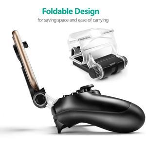 Image 2 - Yoteen aksesuarları Sony PlayStation 4 için PS4 akıllı telefon klip kelepçe dağı Stand braketi telefonu klip tutucu Dualshock 4