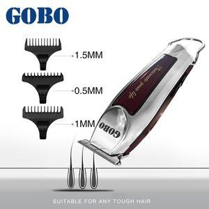 Image 2 - GOBO hot sales Professional máquina de cortar cabelo aparador de Barba cabelo Elétrica baber máquina de corte de cabelo Recarregável sem fio clipper corte de cabelo