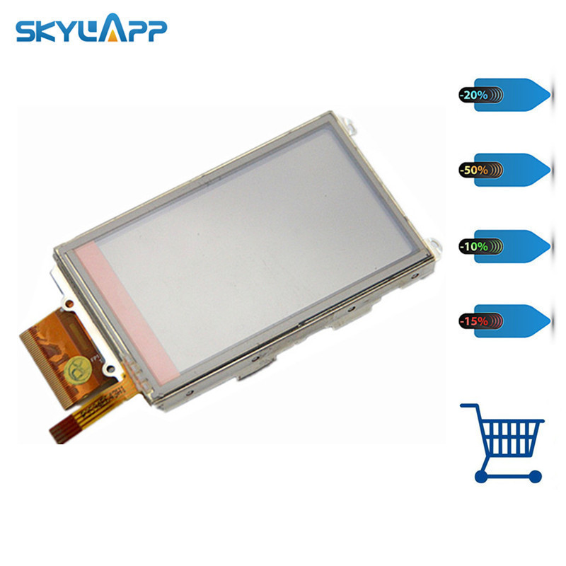 Skylarpu 3 inch Handheld GPS LCD display screen For GARMIN OREGON 500 500t with touch screen digitizer Free shipping skylarpu 3 inch lcd panel for garmin oregon 450 450t handheld gps lcd display touch screen digitizer