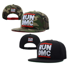 RUN dmc cap hiphop baseball cap bboy hat snapback adjustable flat along the cap wholesale