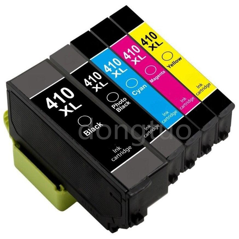 5pcs Generic 410 XL 410XL Ink For Ink Expression Premium XP-530 XP-630 XP-830