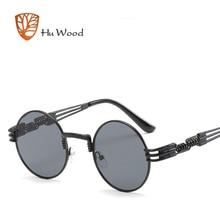 ea780a6894 Gothic Steampunk Sunglasses Men Women Metal Wrap Eyeglasses Round Shades  Brand Designer Sun glasses Mirror UV400