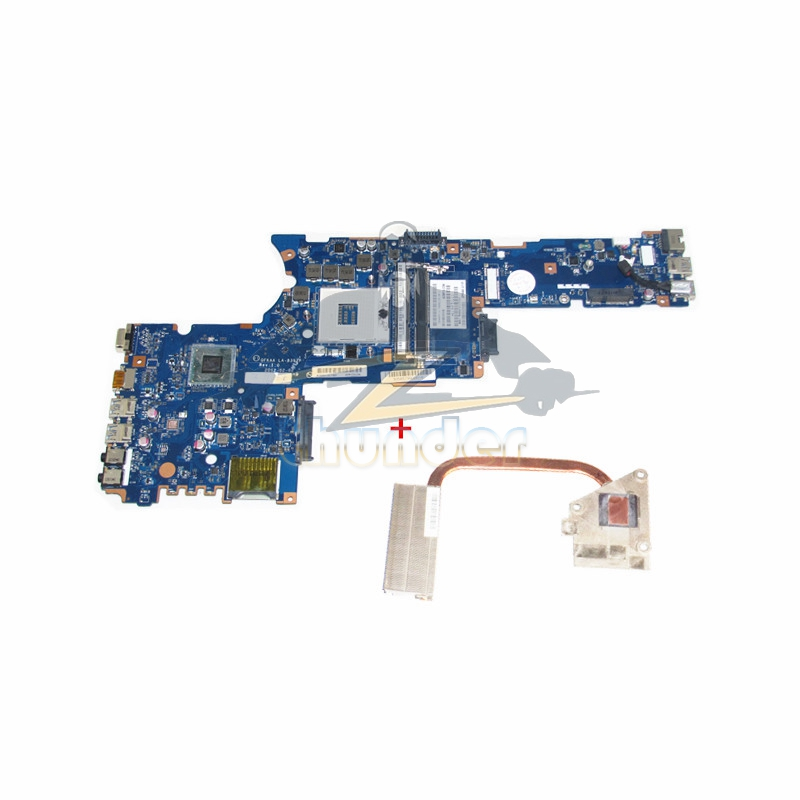NOKOTION K000135160 LA-8392P for toshiba satellite p850 p855 laptop motherboard HM76 GMA HD4000 DDR3 with heatsink nokotion laptop motherboard for toshiba satellite l875 h000043480 mainboard hm76 gma hd4000 ddr3 page 3