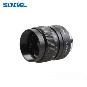 Image 2 - FUJIAN 35mm F1.7 CCTV Movie lens + 25mm f1.4 TV Lens + 50mm f1.4 TV Lens for Panasonic Olympus Micro 4/3 m4/3 OM D GH3 GX8 GX7