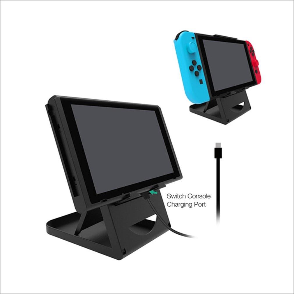 Portable Height Adjustable Holder Support Frame Bracket Compact Playstand Desktop Stand Bracket For Switch NS Host