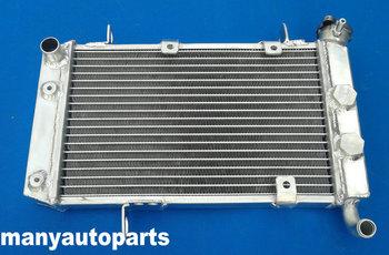 Nowa wydajność grzejnik aluminiowy do ATV Suzuki LTZ400 LTZ400Z i Kawasaki KFX400 i Arctic Cat DVX400 2003-2008 LTZ KFX DVX 400 tanie i dobre opinie GPIRACING