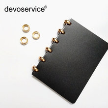 10 шт серебристые/золотистые металлические кольца листья для
