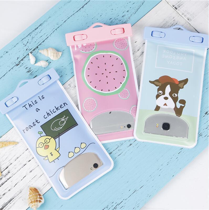 New Women Men Travel Wallet Phone Coin Bag Phone Waterproof Bag Summer Beach Case Travel Accessories