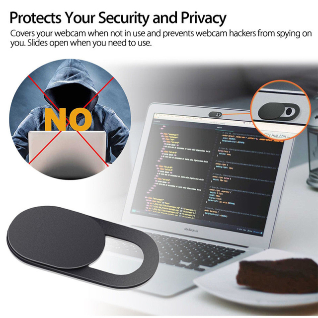 Ultra thin WebCam Cover Shutter Magnet Slider lens Camera Cover for Web Cam iPhone iPad Laptops cell Phone Lens Privacy Sticker