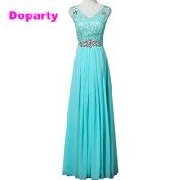Doparty XS2 Cheap Elegant Long Lace appliques custom size robe de soiree Party Evening Dress 2017 New Arrival Formal Dresses