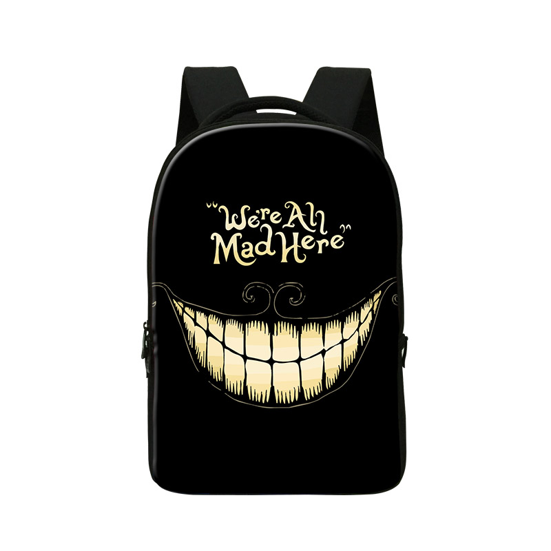 Crazy School backpacks for Teenagers Computer Bag Fashion Skull Bookbags for Elementary Students Fashion Day Pack Best Book Bag mental sand sandbox game with sandplay psychological product playful elementary school students 9pcs set
