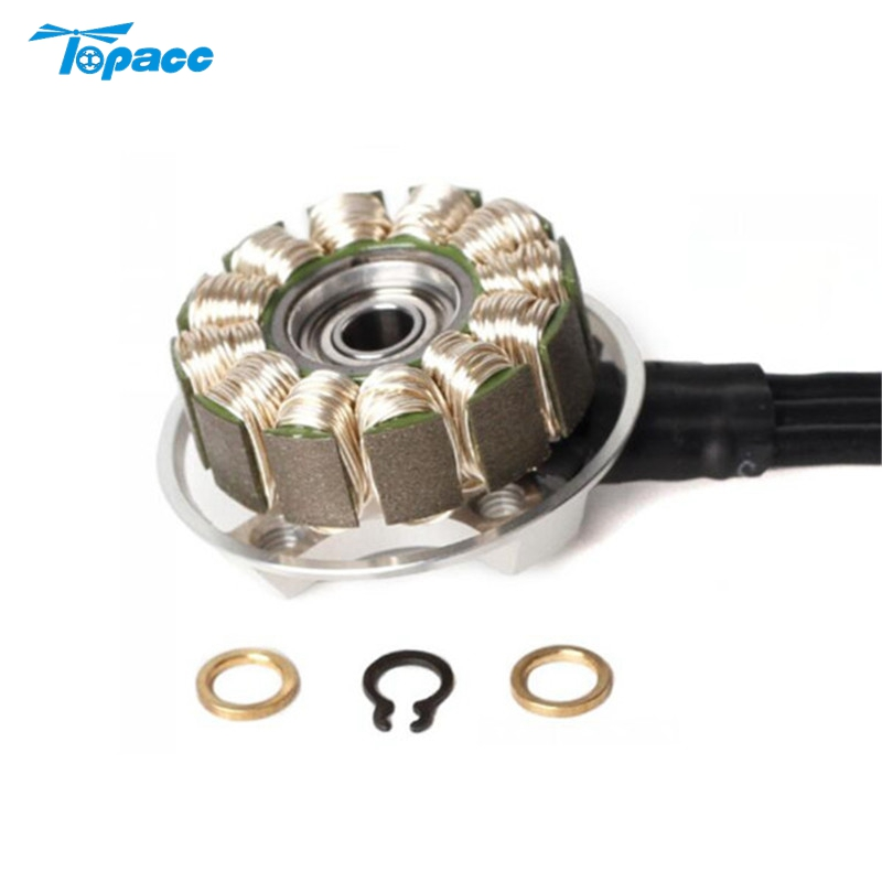 T-Motor F40 Pro 2305 2400KV 2600KV Brushless Motor Stator with for Magnets RC Racing Racer Models Drone Quadcopter Spare Parts 1 piece t motor f40 f60 pro motor 2400kv 2600kv 2200kv 2500kv motor fpv series 12n14p 2 4s for rc model aircraft