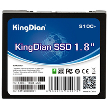 KingDian 1.8 inch SATA II Small Capacity S100+ SSD Internal Solid State Drive Speed Upgrade Kit for Desktop Tablet PC S100+ 16GB
