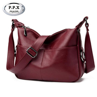 New Fashion Joker Women Single Shoulder Bag Luxury Brand PU Leather Lady Bag European American Female