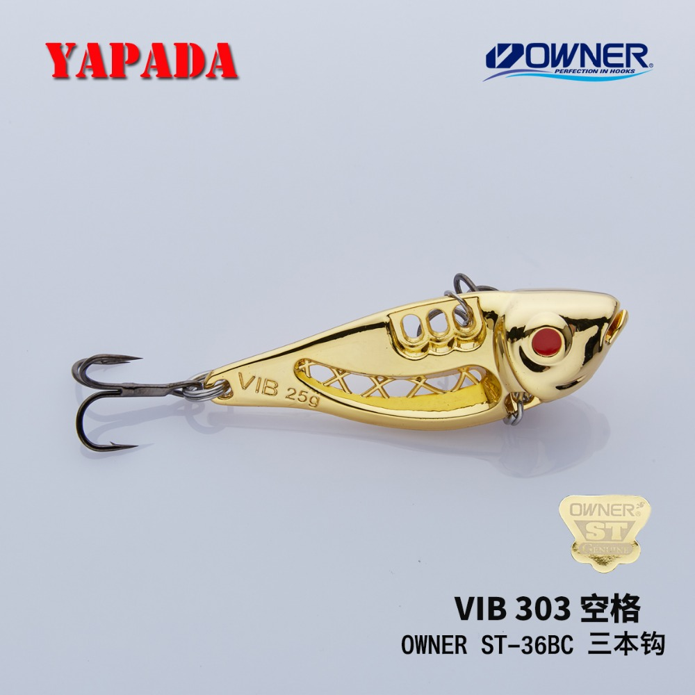 YAPADA VIB 303 Space 10g / 15g OWNER Treble Hook 43-49mm Feather - Ձկնորսություն - Լուսանկար 5