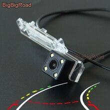 BigBigRoad для Volkswagen Multivan T5 Passat SAGITAR Touran автомобиль интеллектуальные динамический траектории треков заднего вида Камера