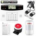 Интеллектуальные Dual-Сеть GSM/PSTN Охранная сигнализация для дома Дом, вилла Охранной ЖК Клавиатура Беспроводной alarma gsm