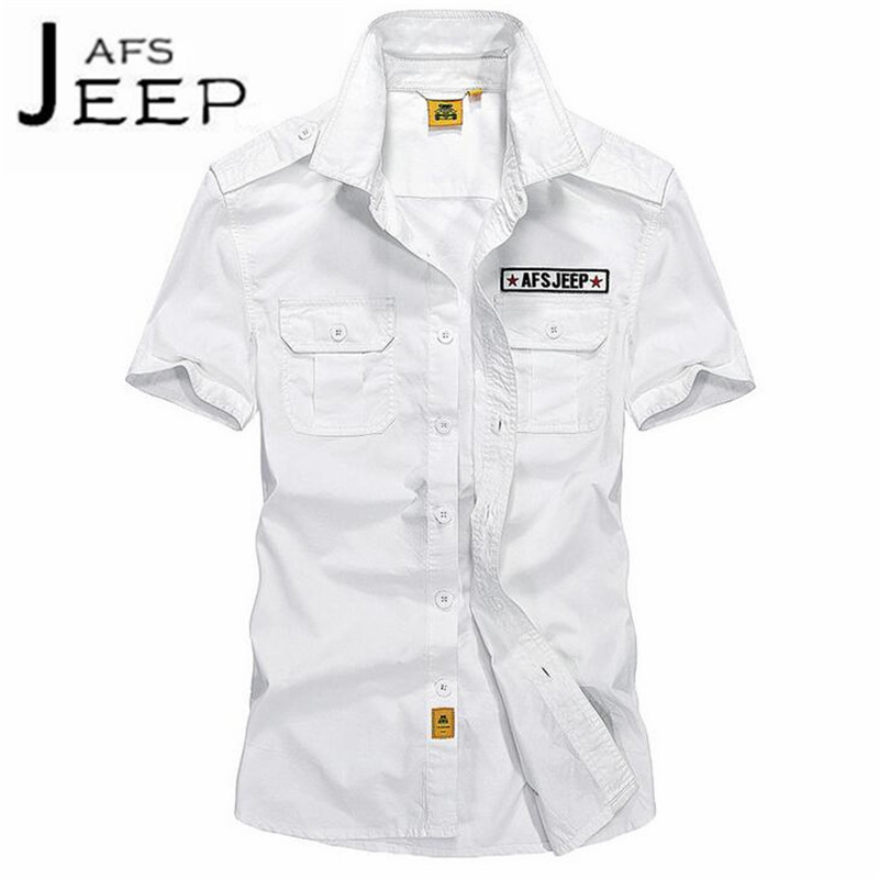 JI PU Summer Mans Short Sleeve Leisure shirt, original brand camisa masculina cotton material motorcycle active shirt