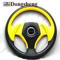 """14"""" MOMO PU Steering Wheel / 350MM MOMO Steering Wheel PU / MOMO Sport Steering Wheel Racing Car Steering Wheel"""