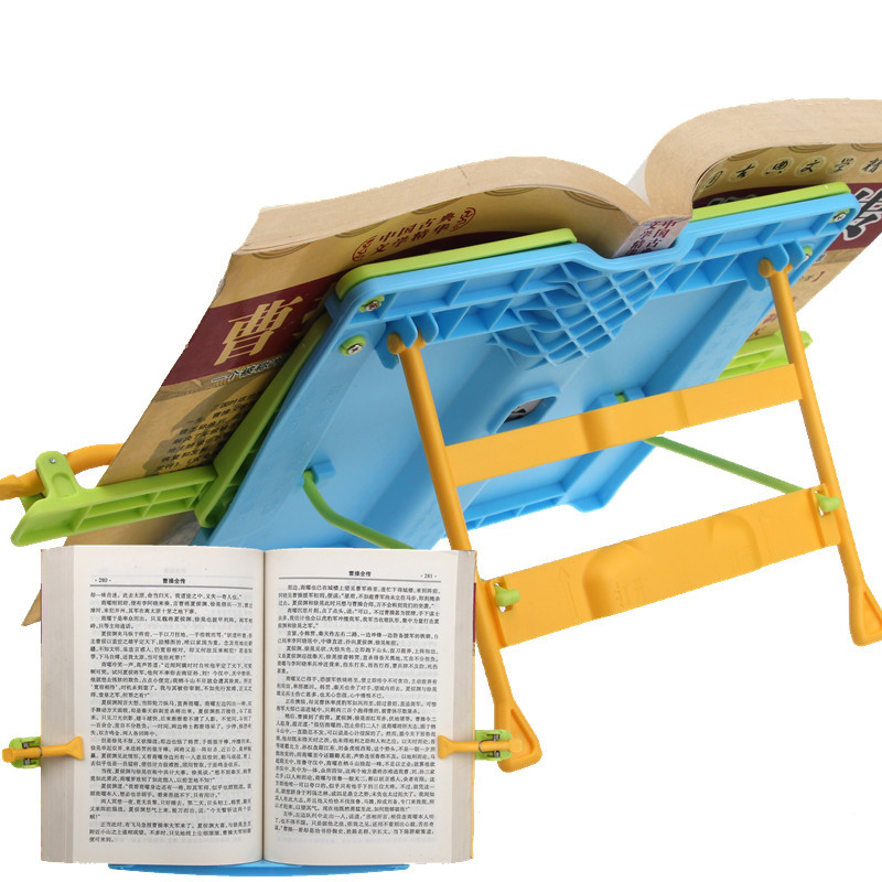 reading book holder desk book stand For Children Eye Protector Bookends Correct posture Anti-myopia adjustable for children