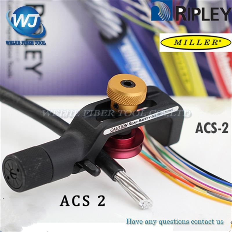 Livraison Gratuite D'origine Miller marque ACS2 ACS-2 Câble Blindé À Fibers Optiques Découpeuse