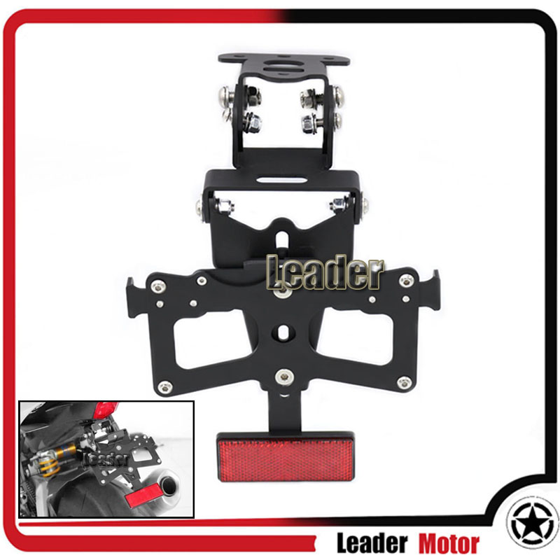 For YAMAHA MT-125 MT125 2014-2015 Motorcycle Adjustable Fender Eliminator Registration Plate Bracket License Plate Holder for yamaha mt 03 2015 2016 mt 25 2015 2016 mobile phone navigation bracket
