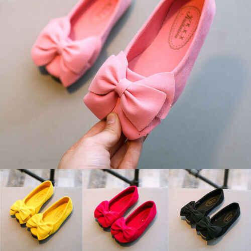 Adorables niños chico princesa zapatos chico s niñas arco zapatos de baile