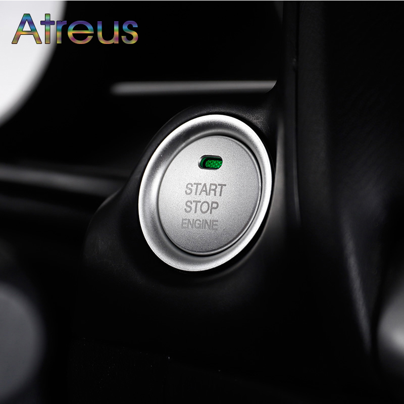 START <font><b>Engine</b></font> Button Replace <font><b>Cover</b></font> STOP Key Accessories Switch Decoration Universal For <font><b>Mazda</b></font> 6 <font><b>3</b></font> CX-5 CX-4 CX5 CX4 Accessories image