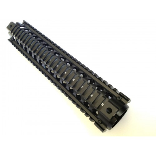 Vector Optics 2-Piece RIS Handguard Picatinny Quad Rail Mount Systems Rifle Length 12 Inch 305mm Full Metal