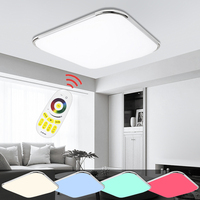 Dimmable LED Ceiling Lamps Modern Design 24W 96W RGB Lighting Fixture Indoor Kitchen Bedroom Living Room