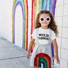 Sun Flower Glasses Kids Sunglasses Baby Children UV400 Girls Boys Oculos De Sol Eyewear Accessories