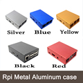 5 Colors 1PC Raspberry Pi 3 Metal Aluminum case - Ultrathin !! High Quality!! Good price!! for Raspberry Pi 2&B plus&3
