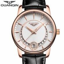 Relogio Feminino GUANQIN Women's Fashion Quartz Watch Women Gold Case dress Seri