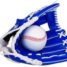 """11,"""" для молодых утолщенных кувшин софтбол перчатки бейсбольные перчатки"""