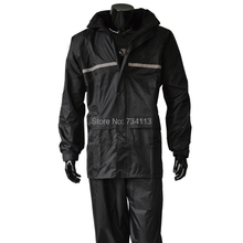 Raincoat large size Motorcycle bicycle rain suit,men and women rain gear Loose Design fishing outdoor rain clothing Waterproof