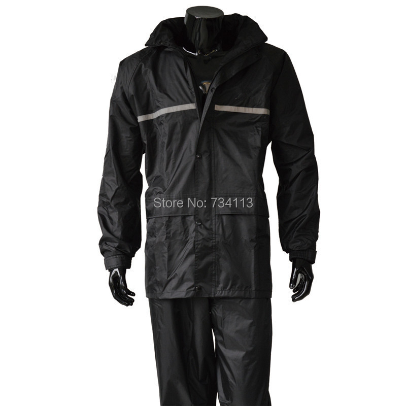 Buy raincoat large size motorcycle for Mens fishing rain gear