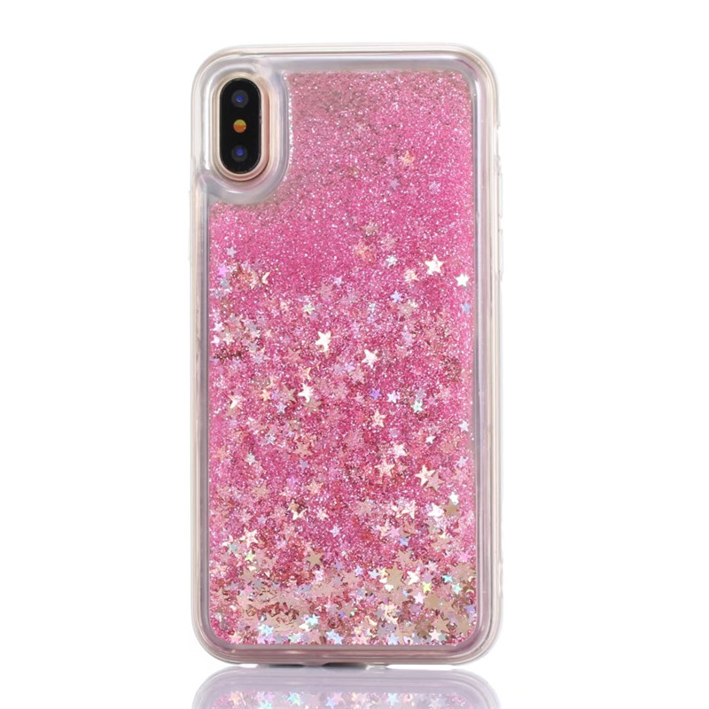 For Samsung Galaxy S9 S7 A6 A8 Plus J4 plus J6 J8 2018 J3 J5 2016 2017 A750 Dynamic Liquid Bling Quicksand Soft Cover Phone Case