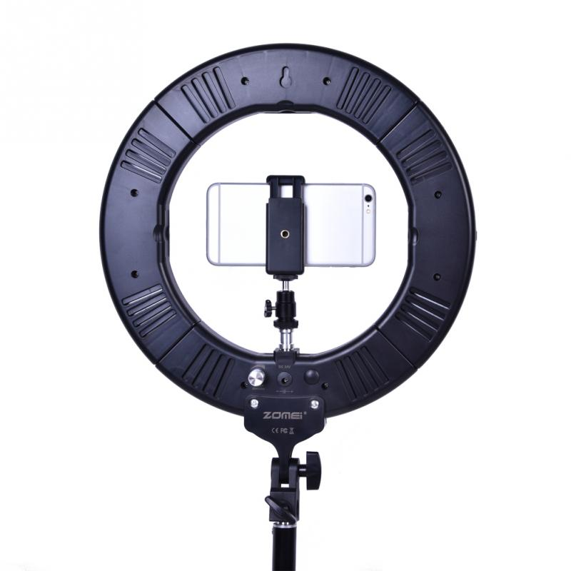Zomei Portable Dimmable Led Ring Lamp Selfie Fill Light